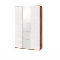 Монреаль №1 Шкаф для одежды 3-х дверный с зеркалом