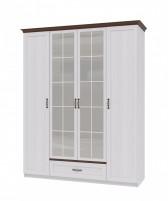 Вентура ИД 01.70 Шкаф для одежды 4х дверный