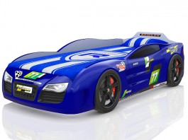 Renner 2 синяя Кровать-машина