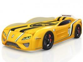 SportLine жёлтая Кровать-машина
