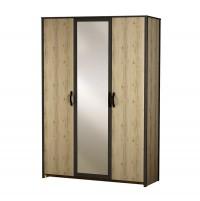 Гранж №885 Шкаф 3-дверный