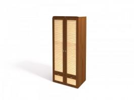 Робинзон ИД 01.135  Шкаф для одежды 2-х дв. с ящиками