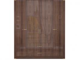 Париж №2 Шкаф для одежды с ящиками глухой