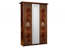 Карина 3 Шкаф 3-х дверный с зеркалом