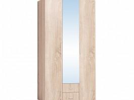 Монако 444 Шкаф для одежды и белья Дуб Сонома