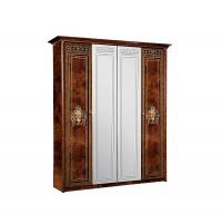Карина 3 Шкаф 4-х дверный с зеркалом