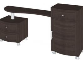 Дольче Нотте СТ-105 Столик туалетный