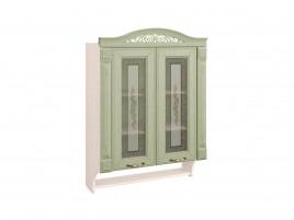 Оливия 72.15 Шкаф-витрина с колоннами