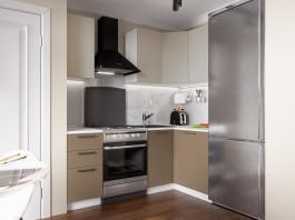 Кухня Акцент-Мокко 1400*1200 мм.