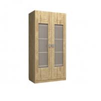 Анастасия АН-4К Шкаф 2-х дверный со стеклом