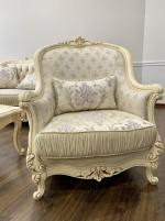 Кресло Мона лиза крем