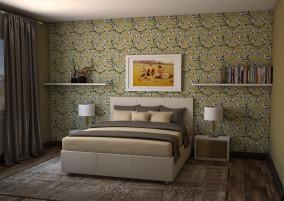Кровать Julia 1400 мм. с подъемным механизмом