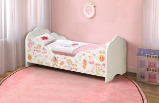 Малышка №4 Кровать детская с бортом