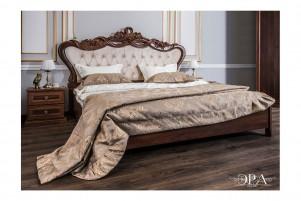 Афина Кровать 1600 мм. с мягким изголовьем