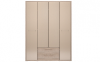 Вива №9 Шкаф 4-х дверный с ящиком глухой