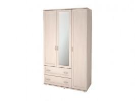 Ника-Люкс №18Р Шкаф для одежды 3-х дверный