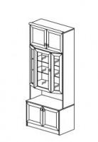 Янна ЯН-09 Шкаф для посуды