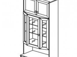 Янна ЯН-11 Шкаф для посуды