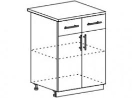 Лира ШН1Я-600 Шкаф нижний