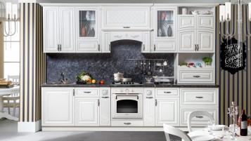 Кухня Прага серебро