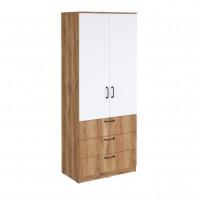 Сеул Шкаф гардеробный с 3 ящиками-800