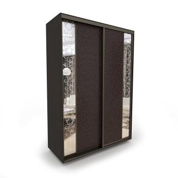 Шкаф-купе Акцент-Вера КС 2-х дверный зеркало