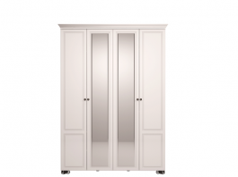 Лукреция №01 Шкаф 4х дверный с зеркалом