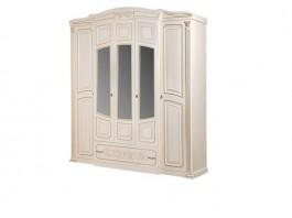 Валерия Шкаф 5-ти дверный с зеркалом