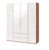 Монреаль №2 Шкаф для одежды 4-х дверный с зеркалом