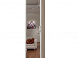 Твист ИД 10.150а Шкаф для одежды с зеркалом