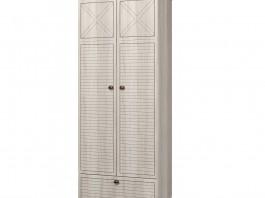 Калипсо ИД 01.346 Шкаф для одежды 2-х дв. с ящиками