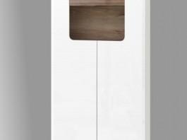 Сиэтл №2 Шкаф комбинированный (подсветка в комплекте)