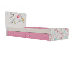 Алиса Кровать с ящиками Кр-32