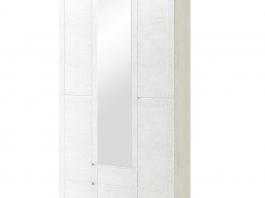Твист №13 Шкаф для одежды 3-х дверный с ящиками