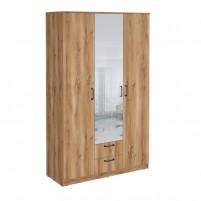 Сеул Шкаф гардеробный 1200 с зеркалом