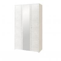Твист №14 Шкаф для одежды 3-х дверный с зеркалом