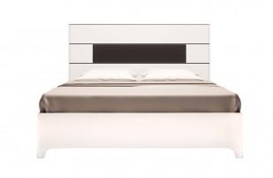 Танго №5 Кровать двойная на 1600 мм (латы)