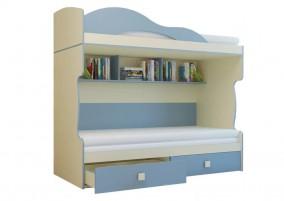 Радуга Кровать 2 этаж + тахта