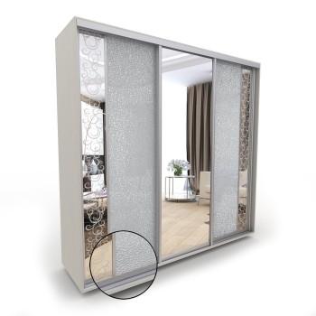 Шкаф-купе Акцент-Вера КС 3-х дверный зеркало