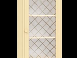 Соня СО-14 Пенал со стеклом