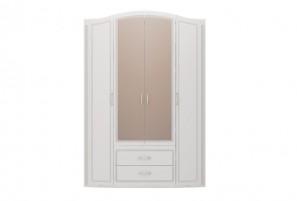 Виктория №2 Шкаф для одежды 4-х дв. с ящик. с зеркалом