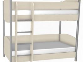 Валерия КР-123 Кровать двухъярусная