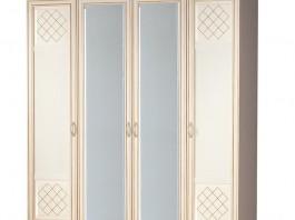 Парма №814 Шкаф для одежды 4-дверный