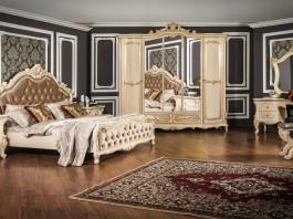 Композиция спальни Росcелла крем глянец