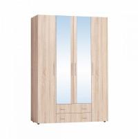 Монако 555 Шкаф для одежды и белья Дуб Сонома