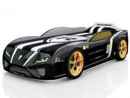 SportLine чёрная Кровать-машина