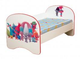 Кровать детская Тролли без ящика