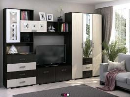 Гостиная Яна ТВ 751 + Шкаф