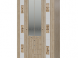 Бавария Шкаф 4-х дверный