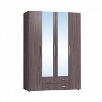 Монако 555 Шкаф для одежды и белья Ясень Анкор темный